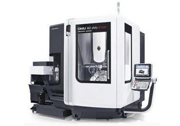 CNC milling machine DMU 80 eVo