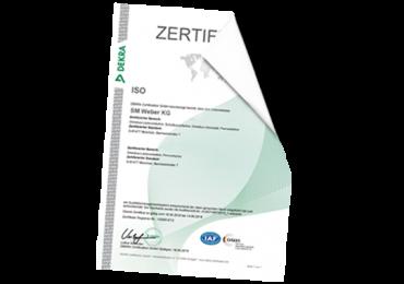 Neue ISO Zertifikate